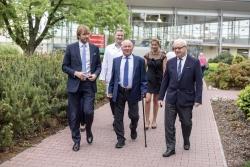 Ministr zdravotnictví Adam Vojtěch si prohlédl Oddělení urgentního příjmu v Českých Budějovicích