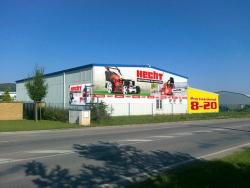HECHT otevře na začátku března novou prodejnu v Letech u Prahy