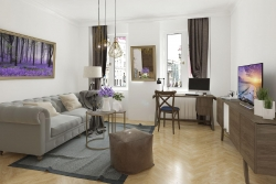 Luxusní bydlení na Královských Vinohradech s vůní levandule