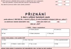 Daňové přiznání musíte podat do 18. srpna
