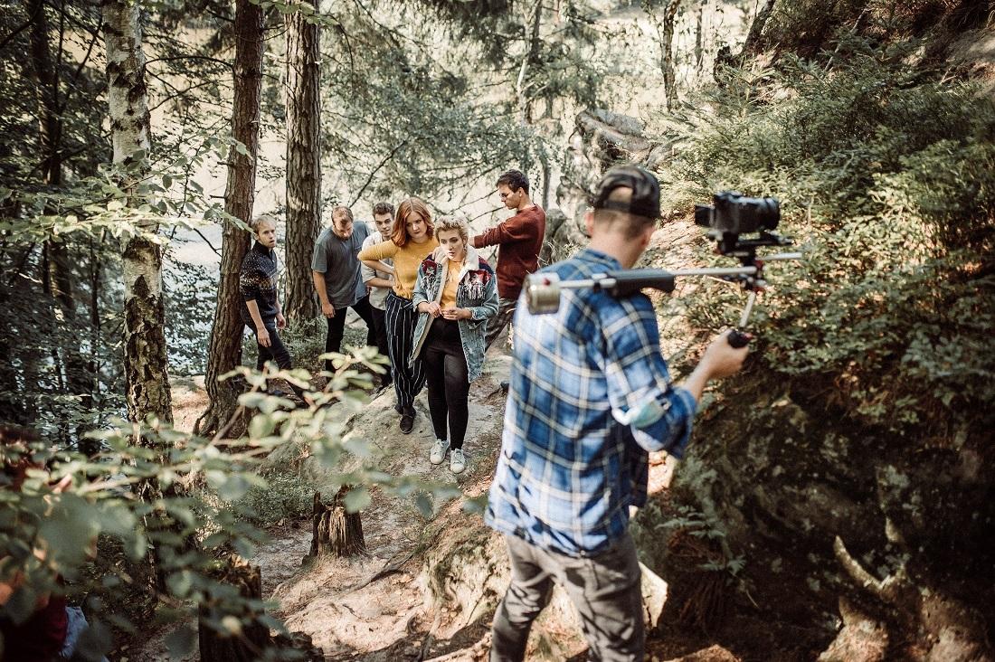 Natáčení klipu se konalo v Českém ráji